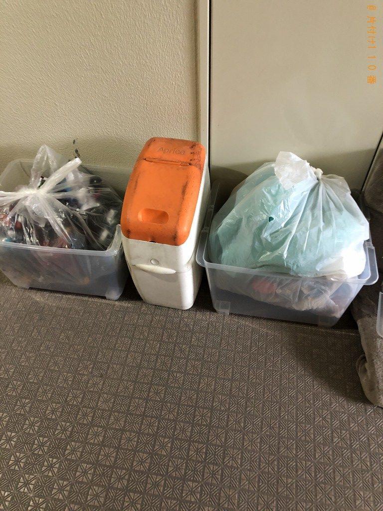 【京都市山科区】軽トラック1台程度の出張不用品の回収・処分ご依頼