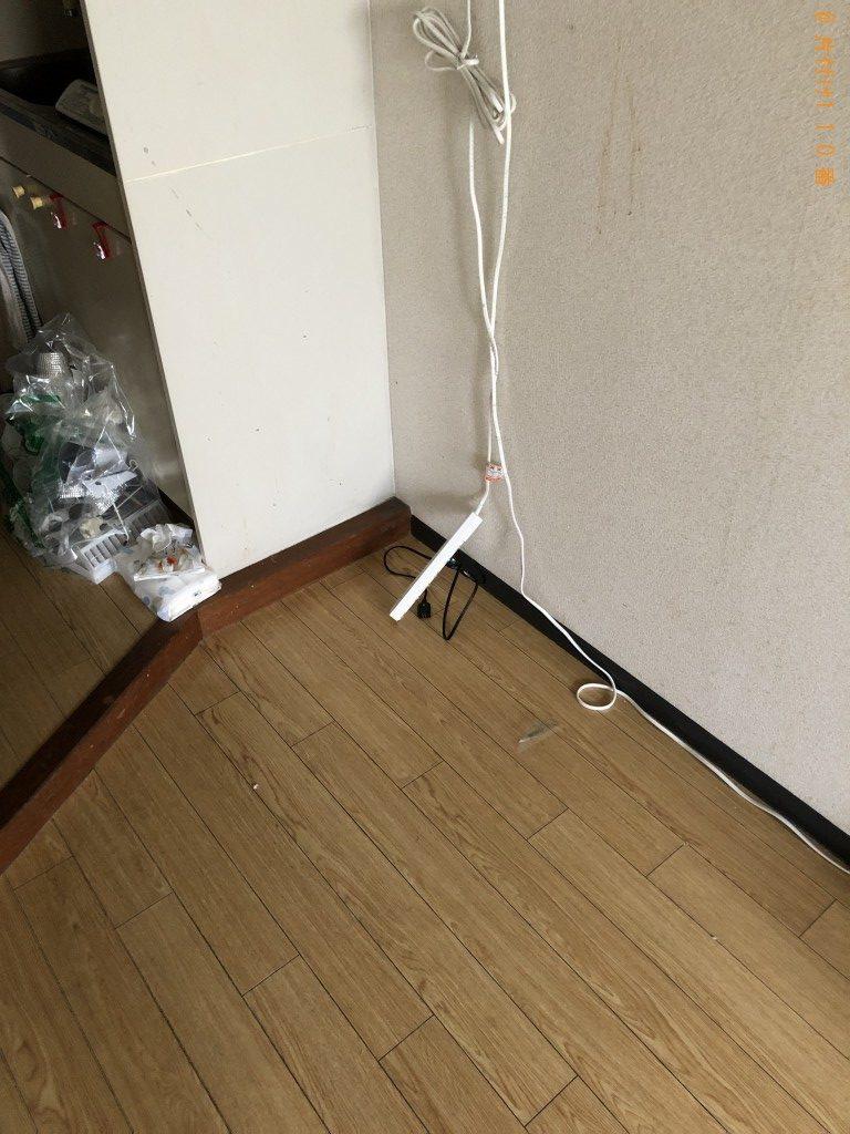 【京都市右京区】冷蔵庫、電子レンジ、鏡台等の回収・処分ご依頼