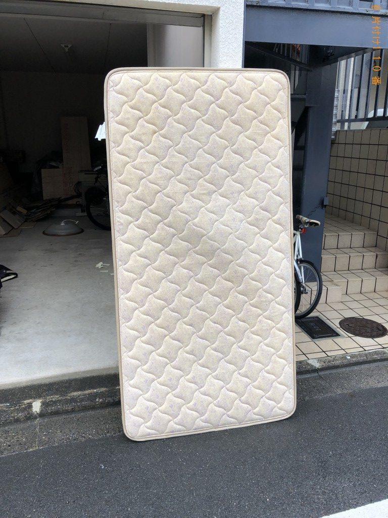 【京都市左京区】PCモニターセット、シングルベッド等の回収・処分