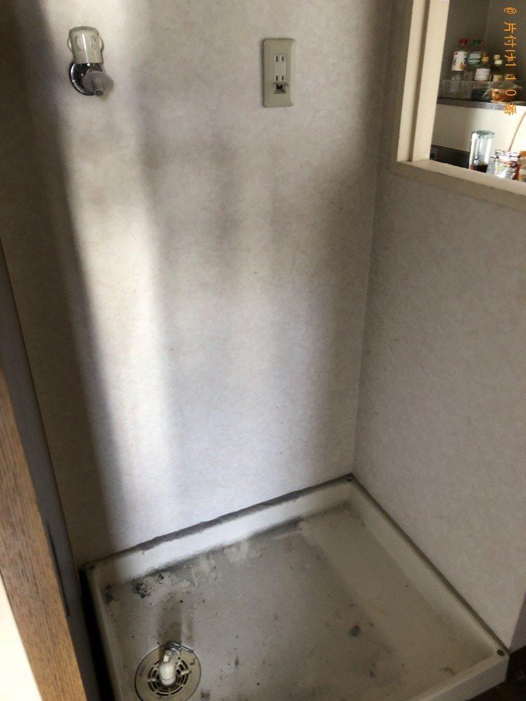 【京都市右京区】ガスコンロ、食器棚、ハンガーラック等の回収・処分