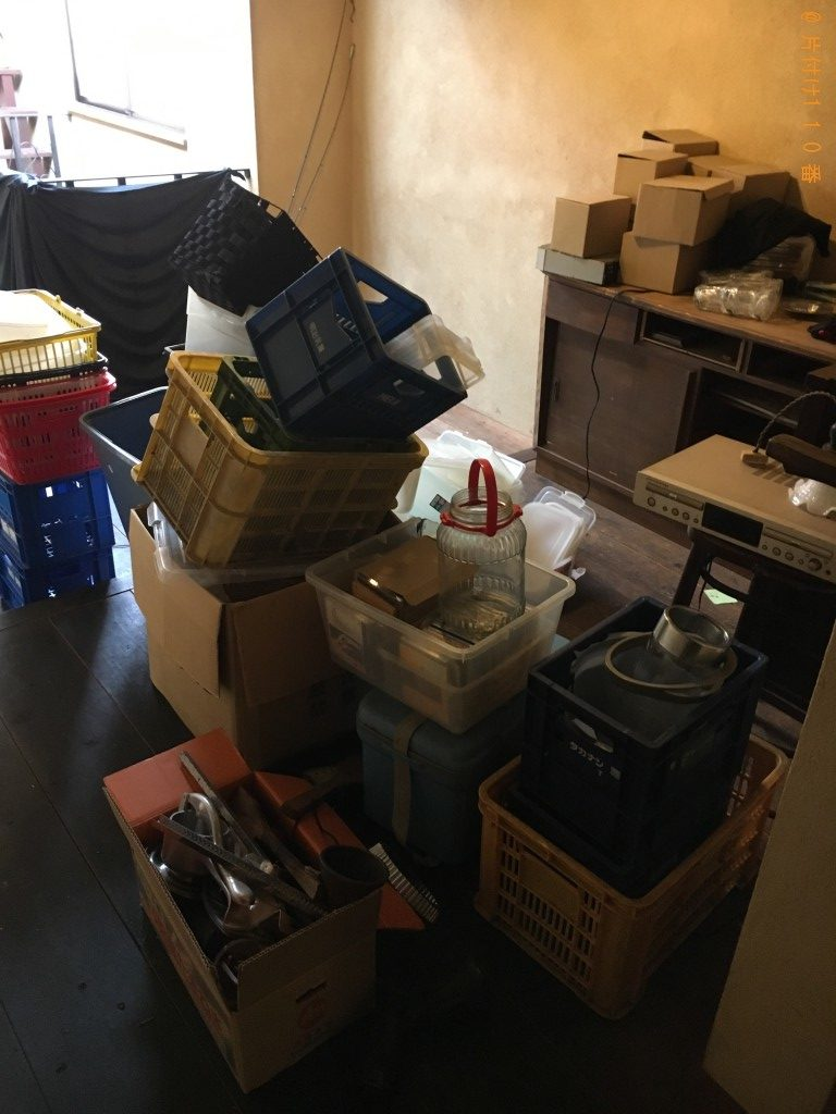 【神川町】回転いす、テーブル、分別なし家庭ゴミの回収・処分ご依頼
