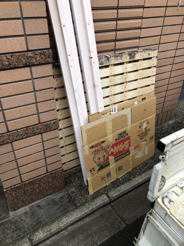 【京都市左京区】冷蔵庫、扇風機、ベッド枠の回収・処分 お客様の声