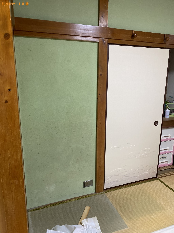 【亀岡市三宅町】整理タンス、ローテーブルの回収・処分 お客様の声
