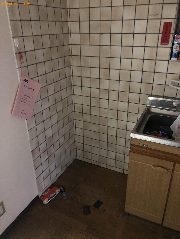 【京都市伏見区】冷蔵庫、鉄製の棚の回収・処分ご依頼 お客様の声