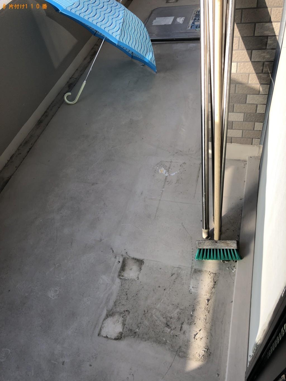 【京都市】コンクリート製の重りがついた物干し台の回収・処分ご依頼