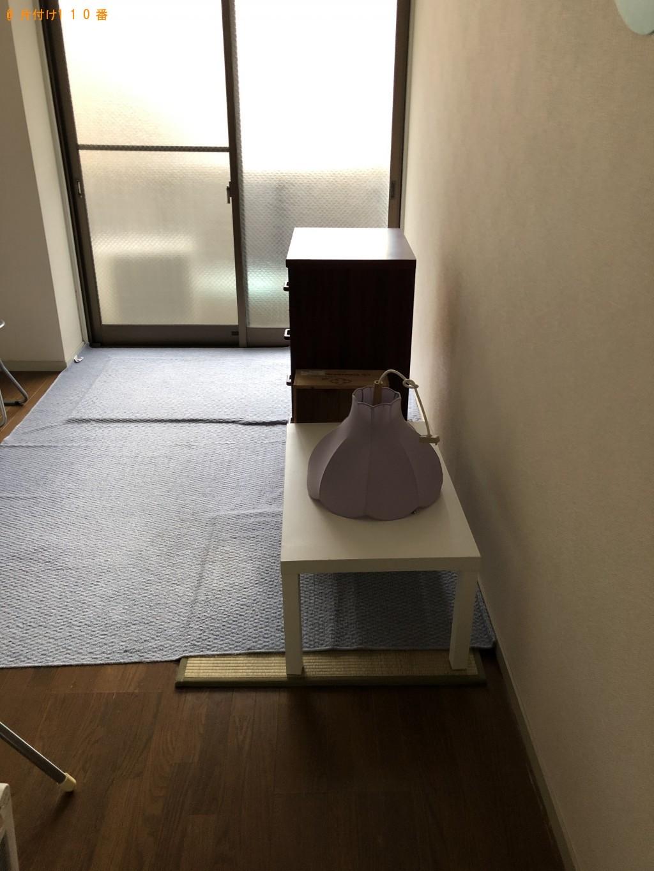 【京都市上京区】洗濯機、掃除機、電気ストーブ、整理タンス等の回収