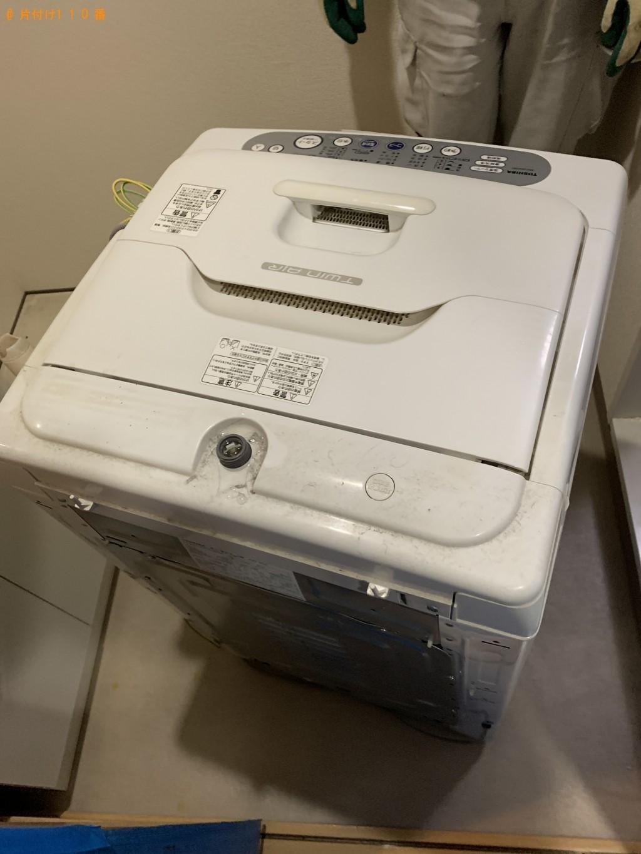 【京都市】洗濯機、電子レンジ、ダンボールの回収・処分ご依頼