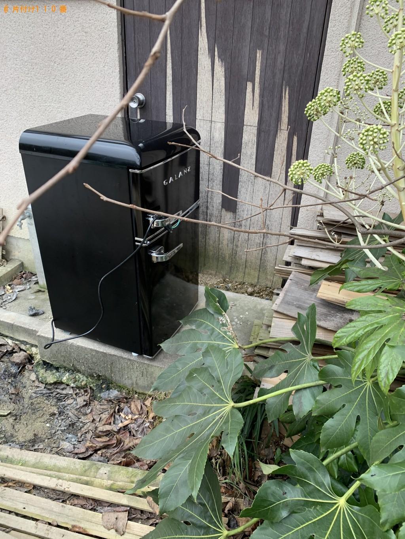 【京田辺市】冷蔵庫の回収・処分ご依頼 お客様の声