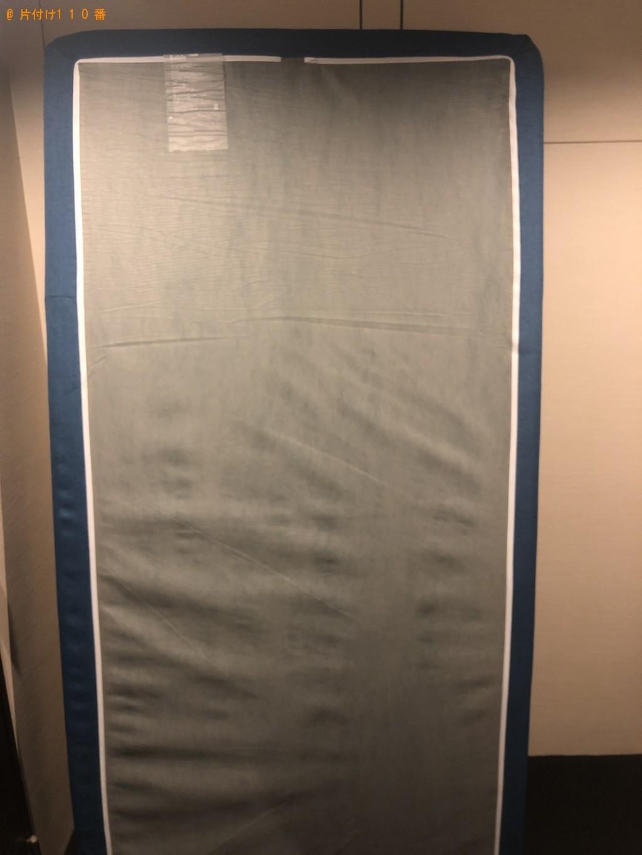 【京都市下京区】シングルベッドマットレスの回収・処分ご依頼