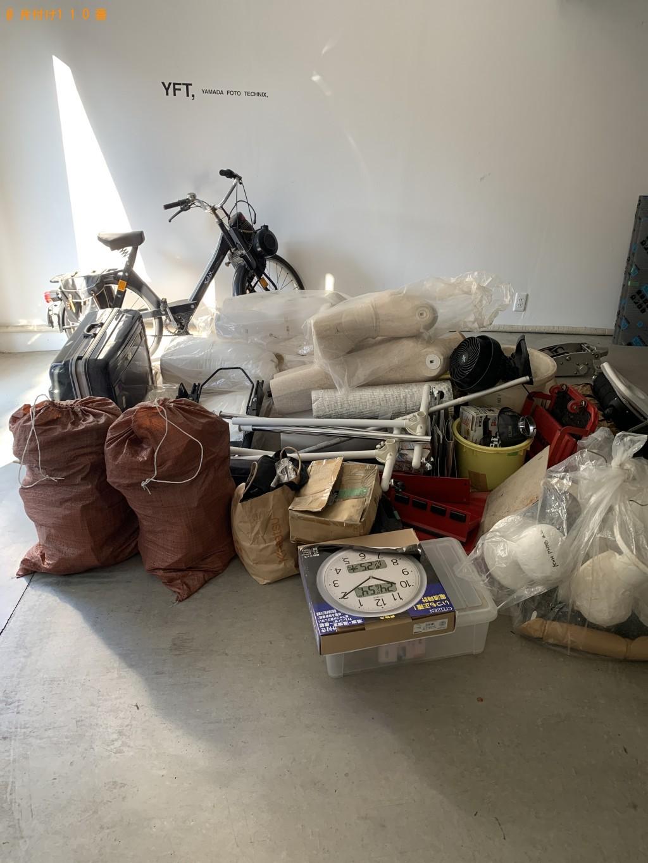 【京都市上京区】スーツケース、車のジャッキ、トルソー、砂袋の回収