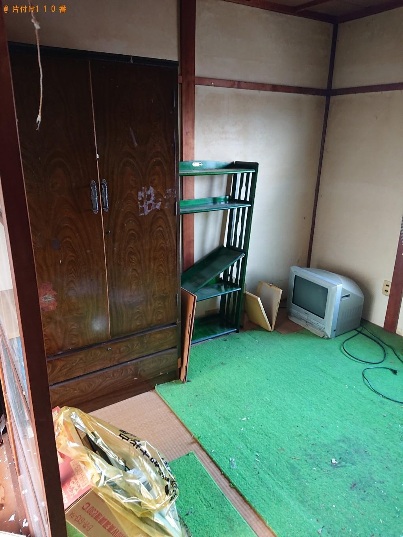 【綾部市岡町】冷蔵庫、こたつ、洗濯機、整理タンス等の回収・処分