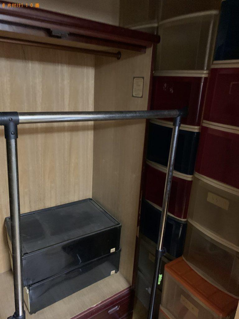 【宮城県加美町】本棚、整理タンス、衣装ケース、PCデスク等の回収