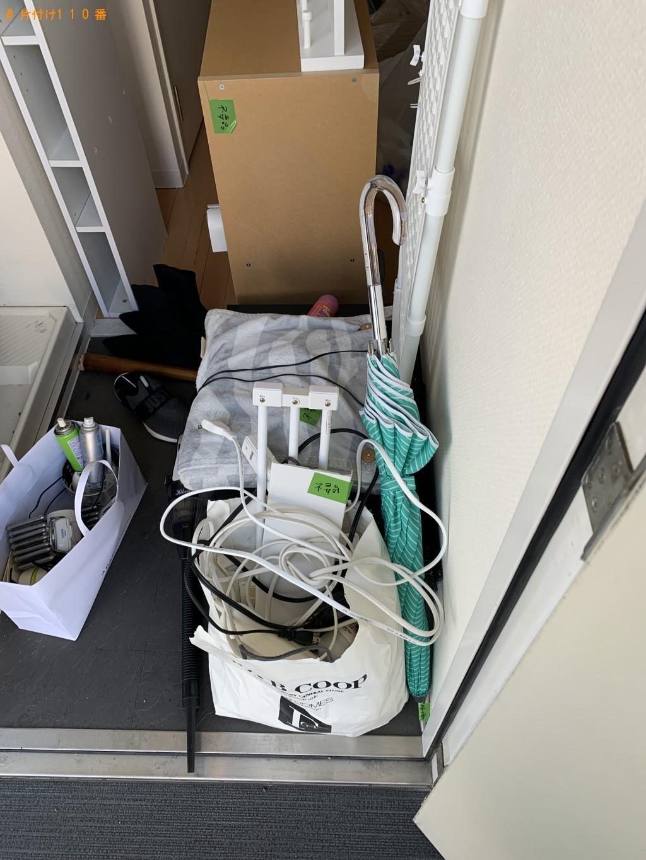 【京都市下京区】カラーボックス、回転いす、クッション等の回収