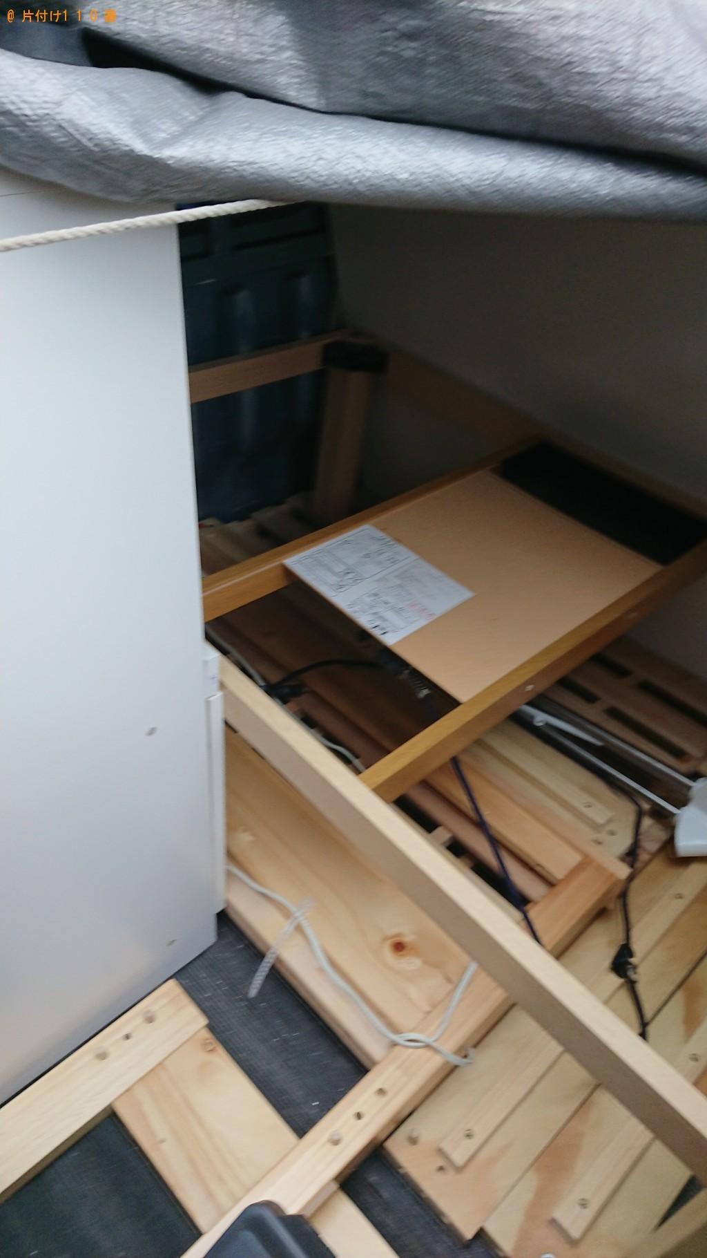 【東村山市】シングルベッド、木箱等の回収・処分ご依頼