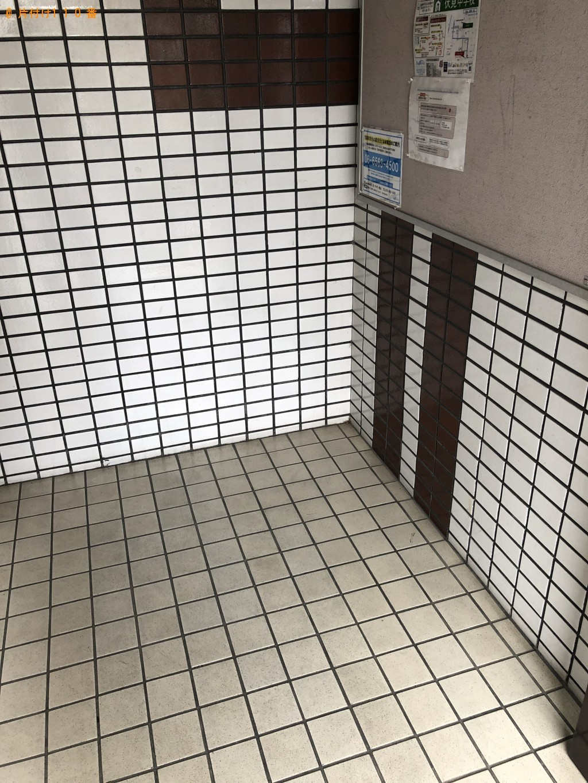 【京都市伏見区】スタンドミラー、カラーボックス、布団等の回収