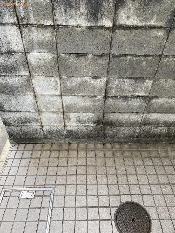 【京都市左京区】メタルラックの回収・処分ご依頼 お客様の声
