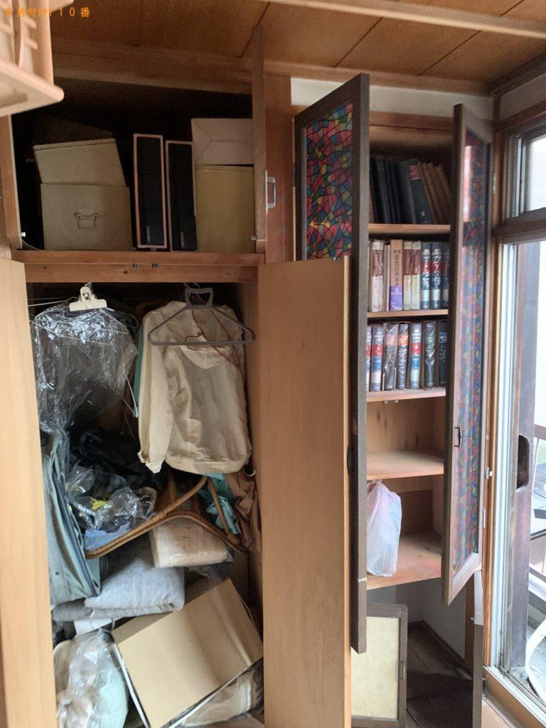 【角田市】本、衣類、整理タンス等の回収・処分ご依頼 お客様の声