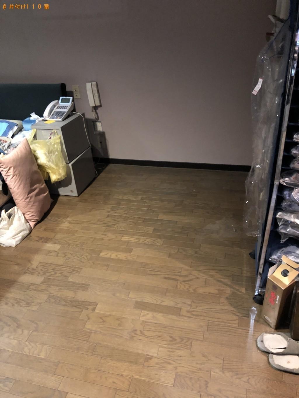 【京都市上京区】セミダブルのウォーターベッドの回収・処分ご依頼