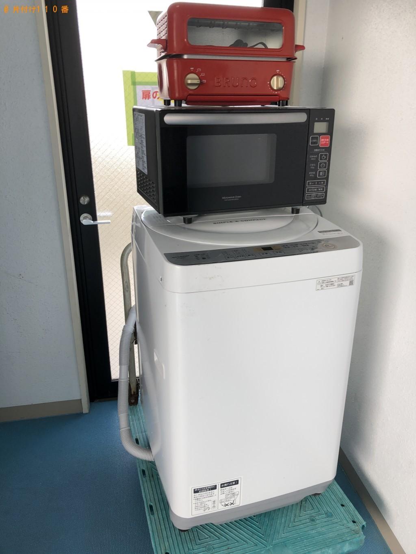 【京都市上京区】洗濯機、電子レンジ等の回収・処分ご依頼
