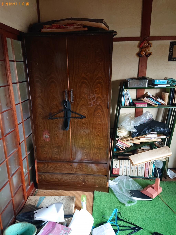 【南丹市八木町】整理タンス、クローゼット、賞状の額の回収・処分