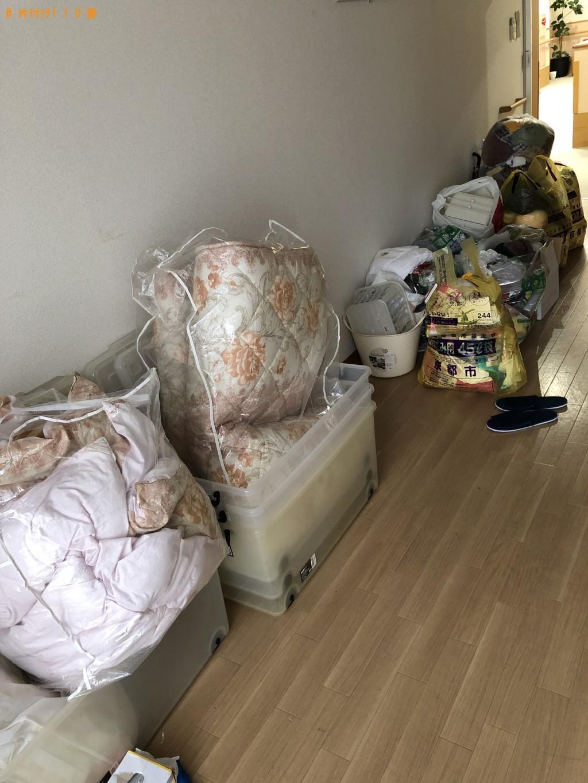 【京都市中京区】衣装ケース、ハンガーラック、布団、衣類等の回収