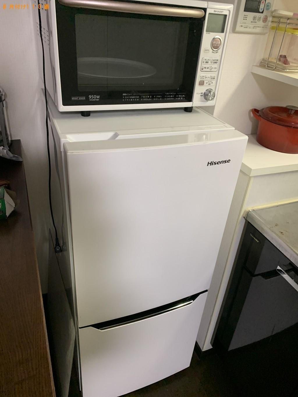 【京都市右京区】冷蔵庫、洗濯機、炊飯器、ローテーブル等の回収