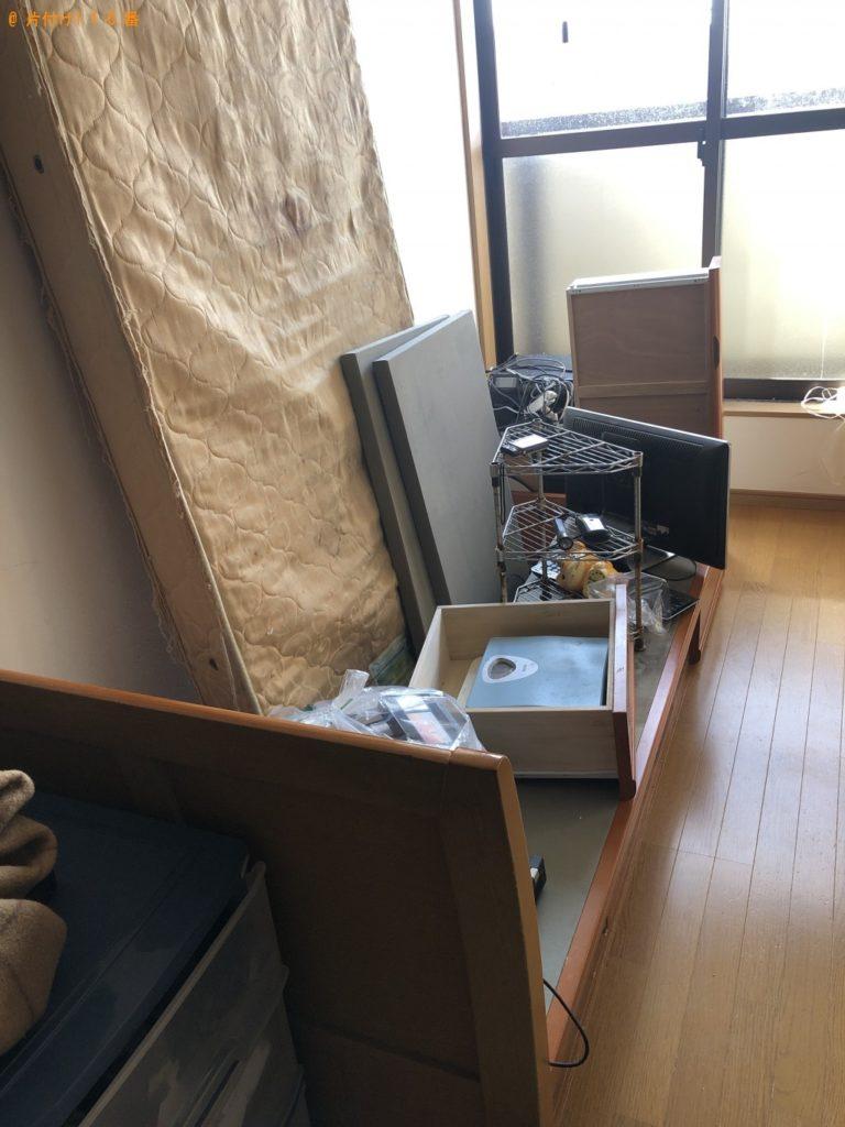 【西尾市】遺品整理に伴いパソコン、プリンター、シングルベッド等の回収・処分
