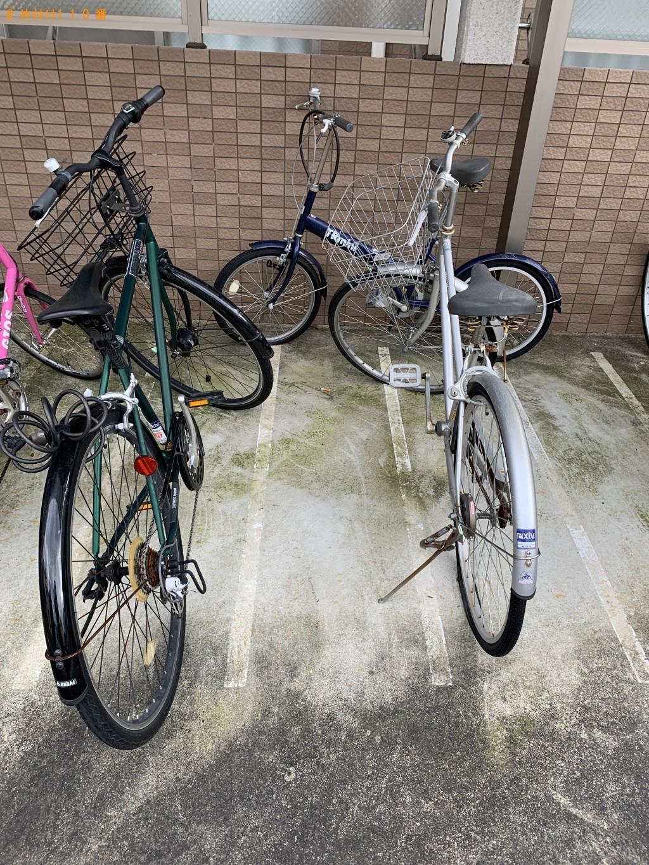 【京都市中京区】自転車の回収・処分ご依頼 お客様の声