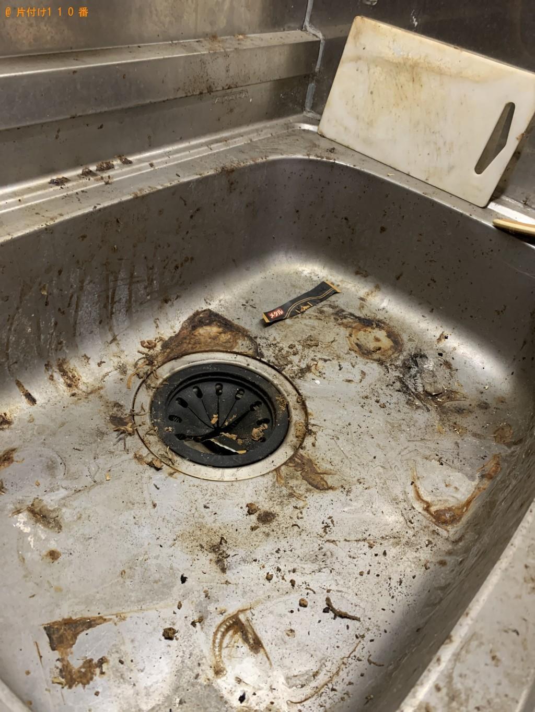 【京都市東山区】ハウスクリーニングと不用品の回収・処分ご依頼