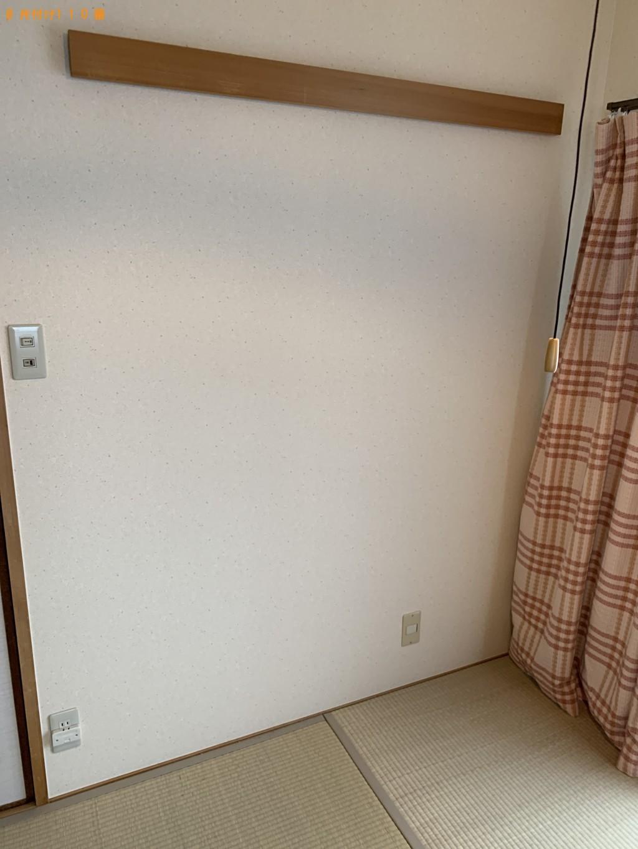 【京都市西京区】婚礼ダンス、食器棚、椅子、カゴ等の回収・処分