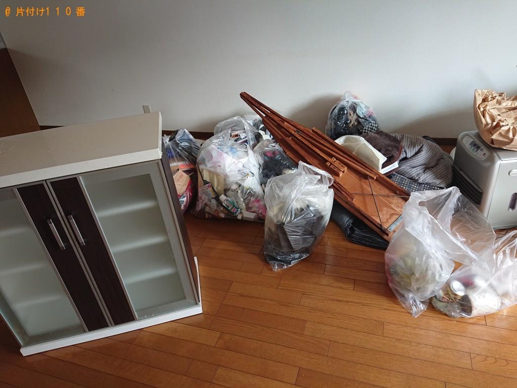【福知山市】軽トラック1台程度の出張不用品の回収・処分ご依頼
