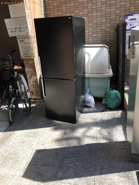【京都市下京区】冷蔵庫の回収・処分ご依頼 お客様の声