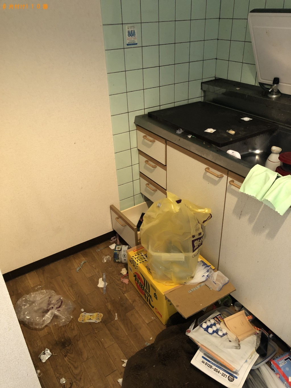 【京都市左京区】冷蔵庫、電子レンジ、テレビ、ローテーブル等の回収