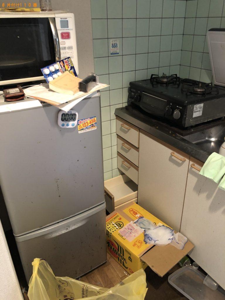 【半田市】冷蔵庫、電子レンジ、テレビ、ローテーブル等の回収