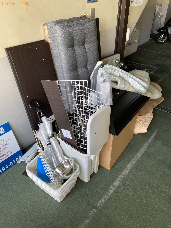 【恵庭市】電気スタンド、ソファー、棚等の回収・処分ご依頼