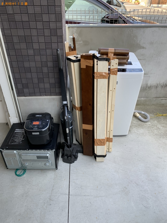 【京都市上京区】洗濯機、掃除機、電子レンジ等の回収・処分ご依頼
