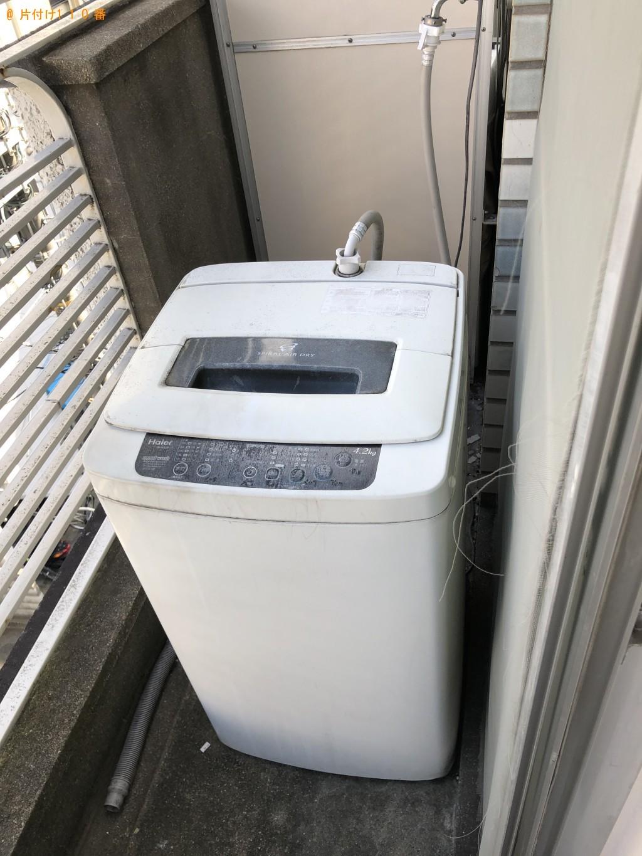 【京都市上京区】冷蔵庫、洗濯機、電子レンジの回収・処分ご依頼