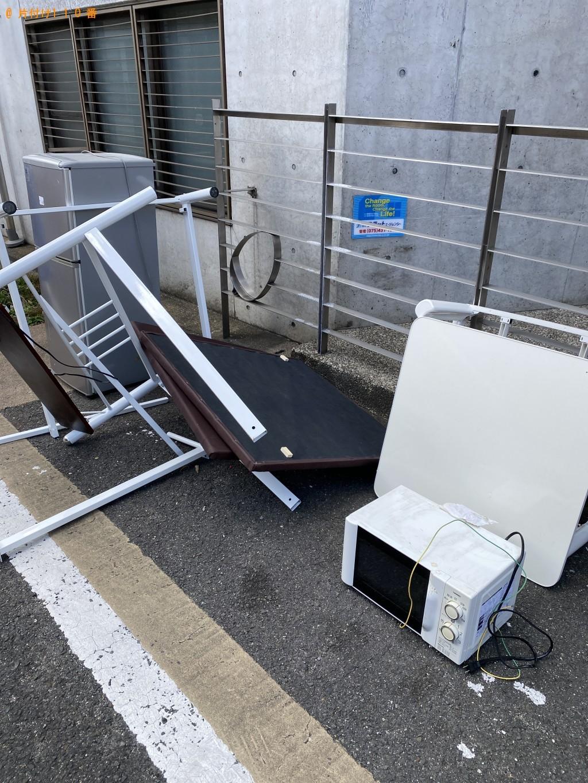 【京都市北区】冷蔵庫、ポット、電子レンジ、こたつ等の回収・処分