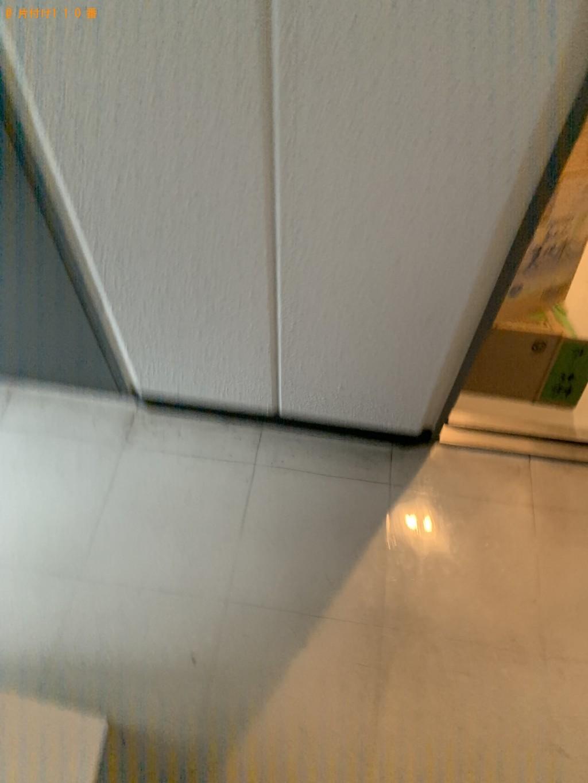 【京都市中京区】整理タンス、収納棚の回収・処分ご依頼 お客様の声