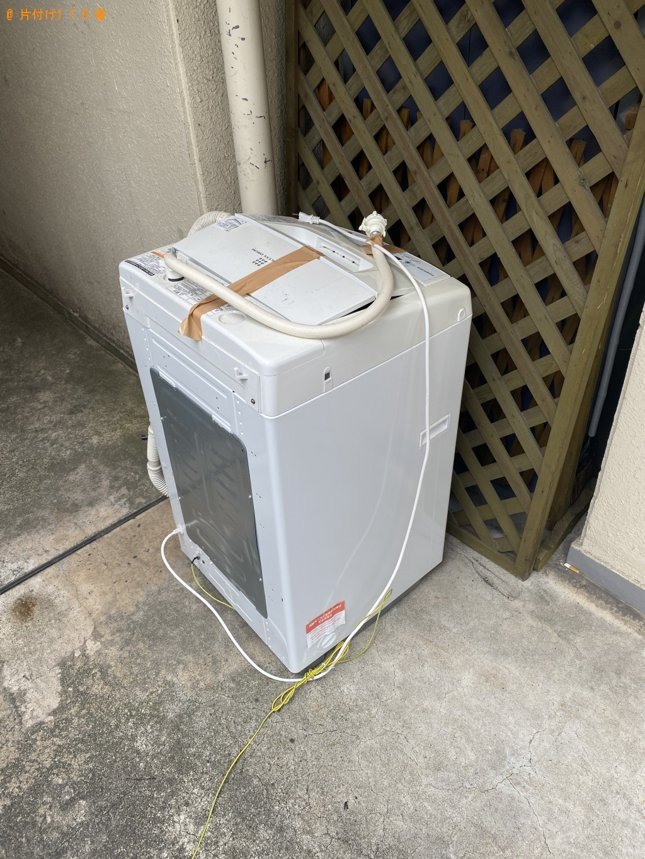 【京都市】洗濯機の回収・処分ご依頼 お客様の声