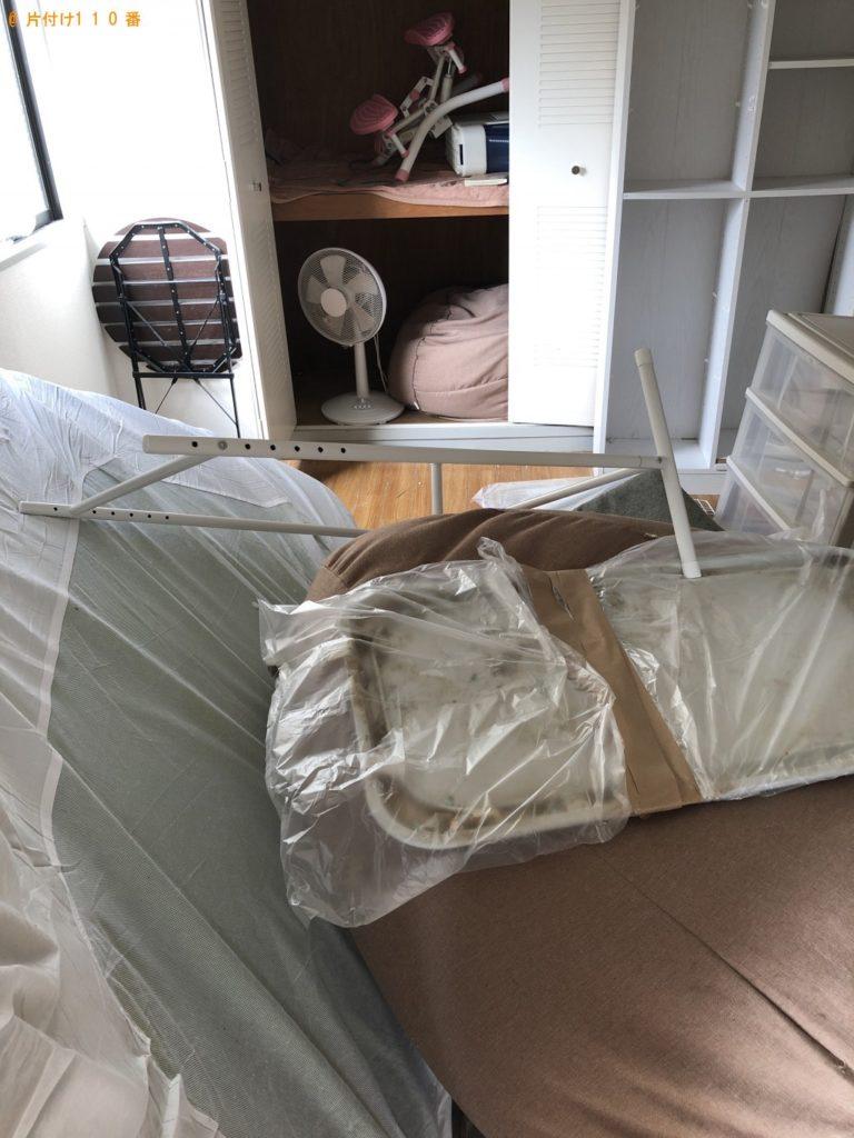 【江南市】遺品整理に伴い、加湿器、本棚、ソファー、回転いす等の回収・処分