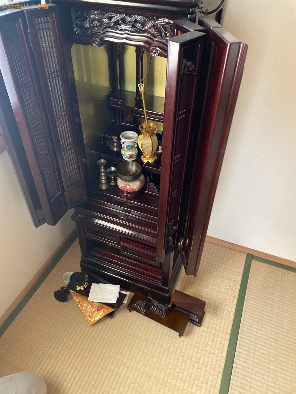 【京都市山科区】仏壇、仏具の回収・処分ご依頼 お客様の声