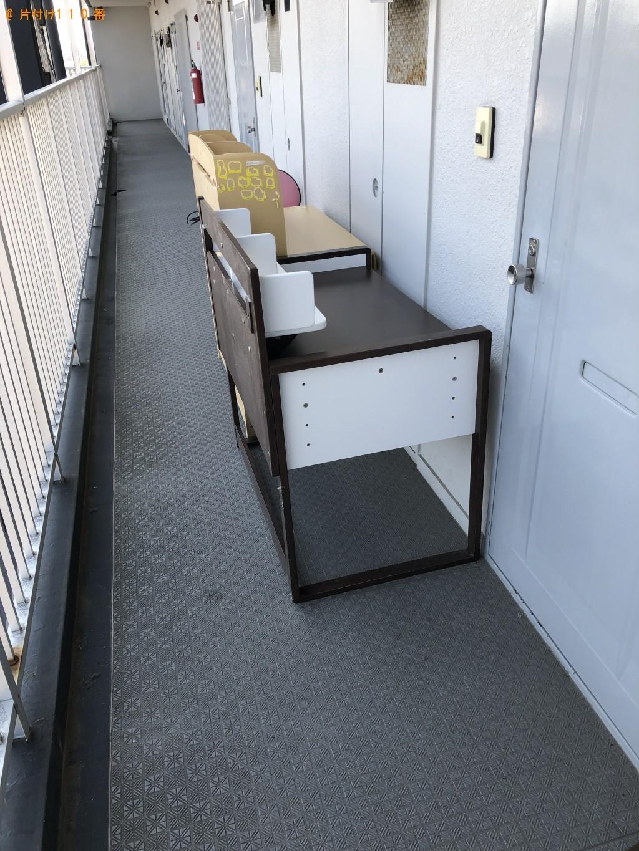 【京都市右京区】学習机の回収・処分 お客様の声