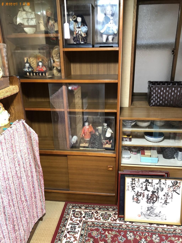 【京都市東山区】本棚、食器棚、衣類ケース、引き出し等の回収・処分
