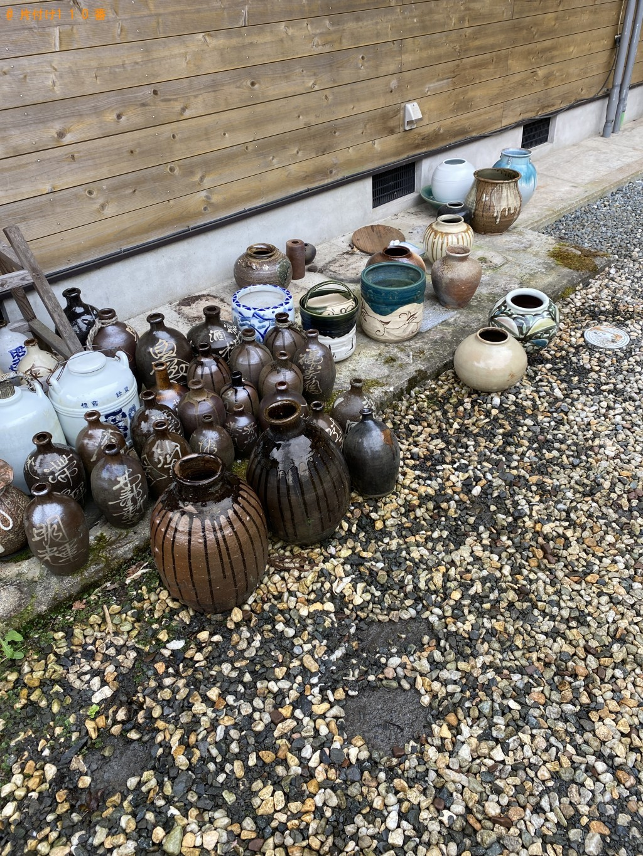 【南丹市】火鉢、陶器類の回収・処分ご依頼 お客様の声