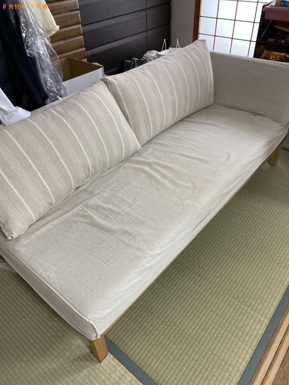 【京都市下京区】ソファーの回収・処分ご依頼 お客様の声