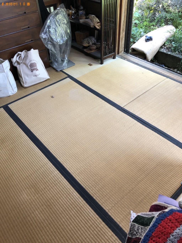 【京都市左京区】カーペット、電動ベッド、畳の回収・処分ご依頼