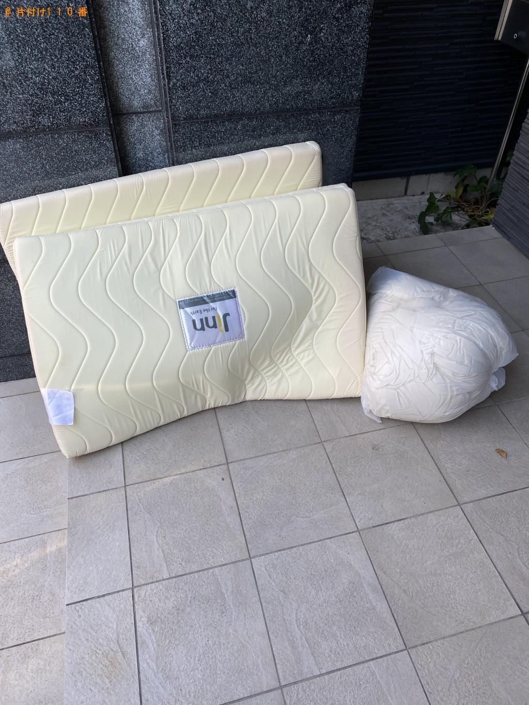 【京都市北区】ウレタンマットレス、布団の回収・処分ご依頼