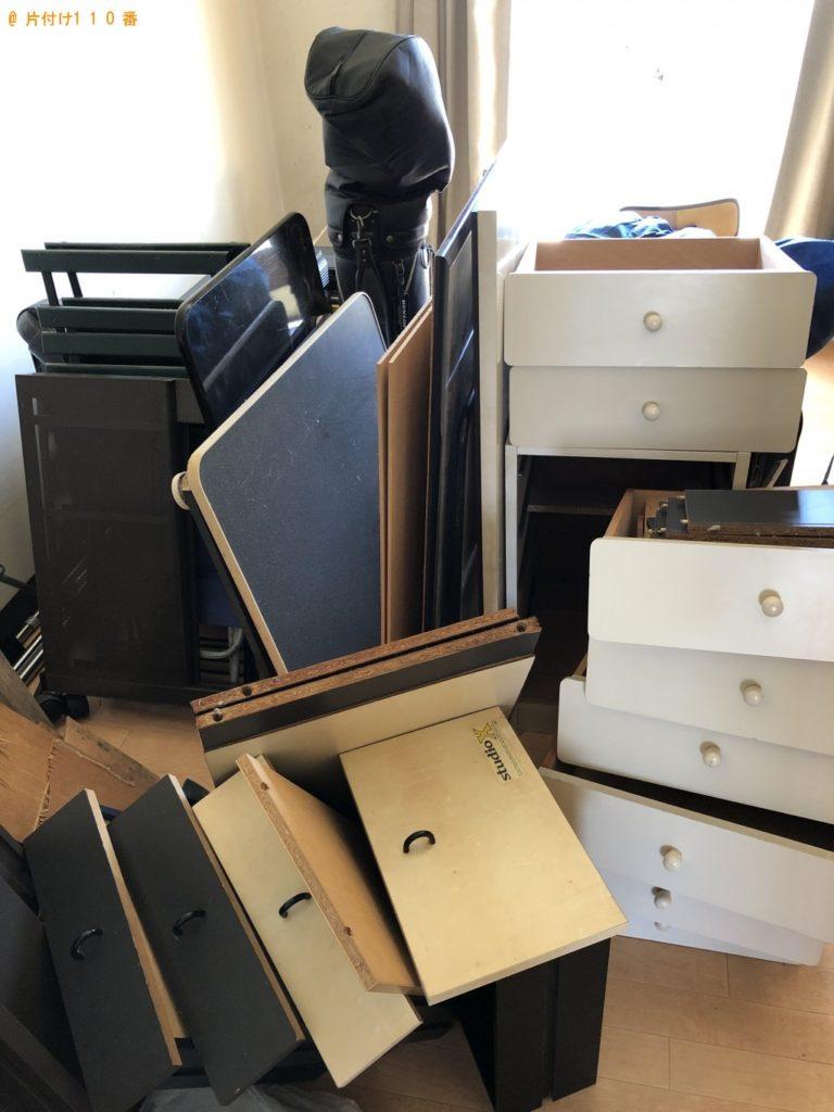 【利府町】本棚、パソコンデスクなどの回収・処分 お客様の声