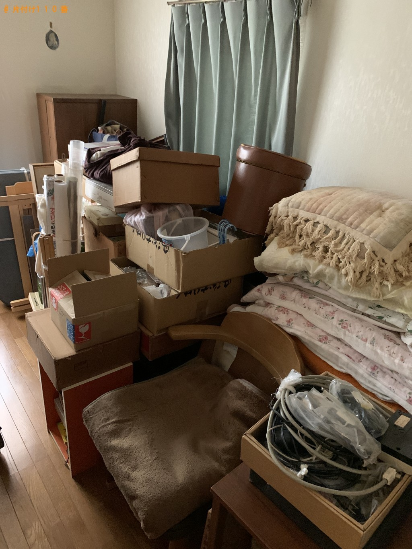 【井手町】本棚、パイプベッド、椅子などの回収 お客様の声